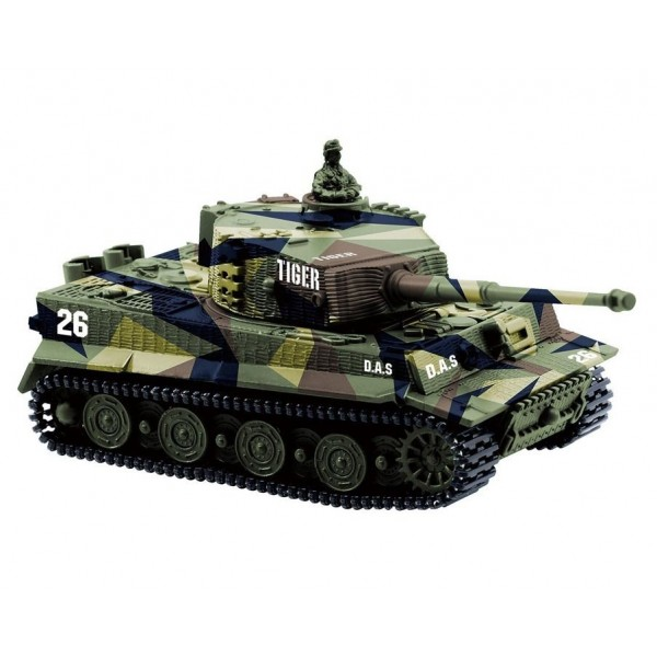 Photo of Bluefit 1:72 German Tiger Panzer RC Tank
