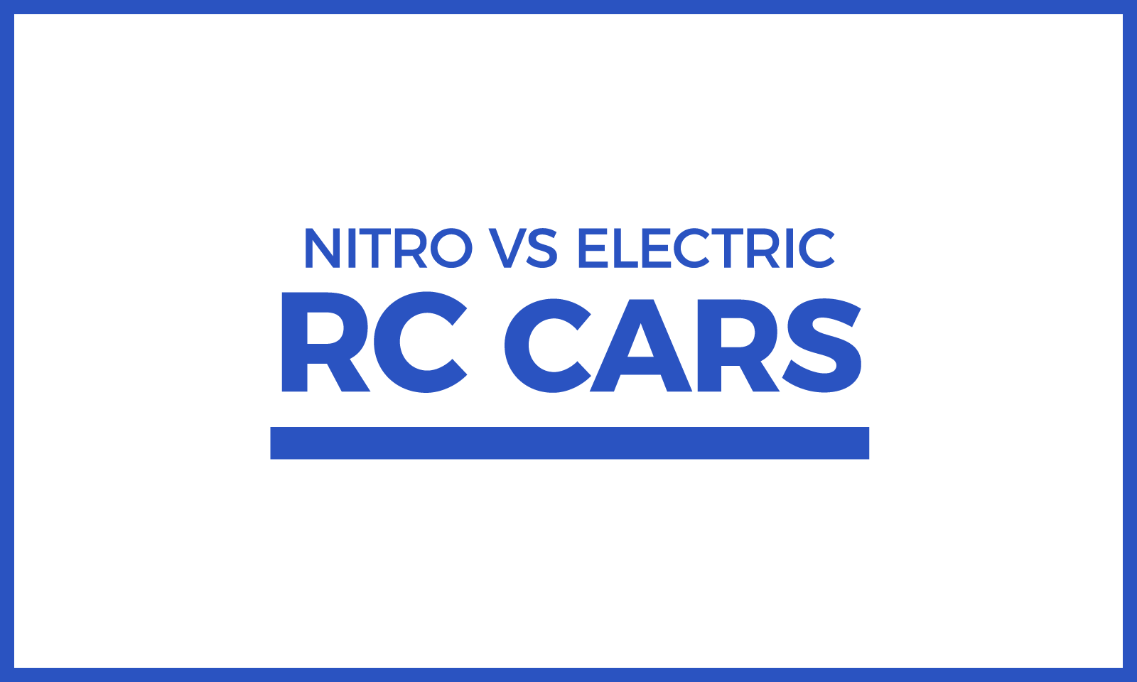 Nitro vs Electric RC Cars Post Header