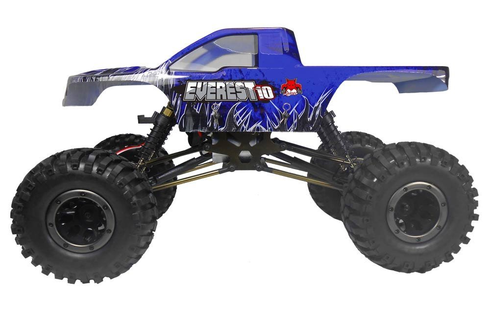 Rock Crawler Dashboard : Redcat racing everest review for rc roundup