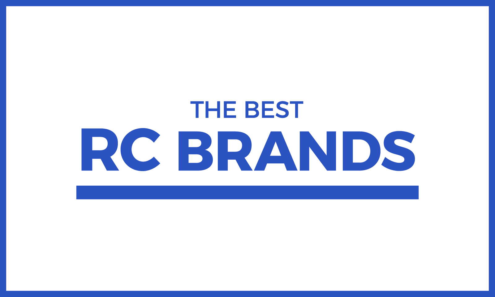 Best RC Brands